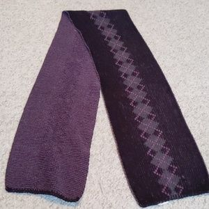 Accessories - Black and Purple scarf
